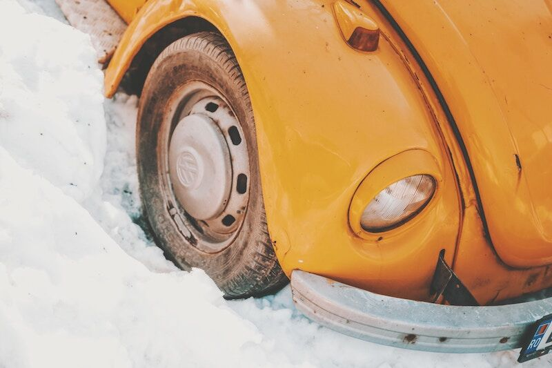 old yellow vw bug, insurance for your older car