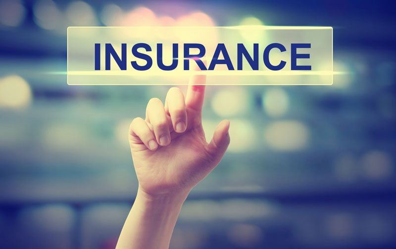 "hand clicking ""insurance"" button, why you need business insurance before opening"