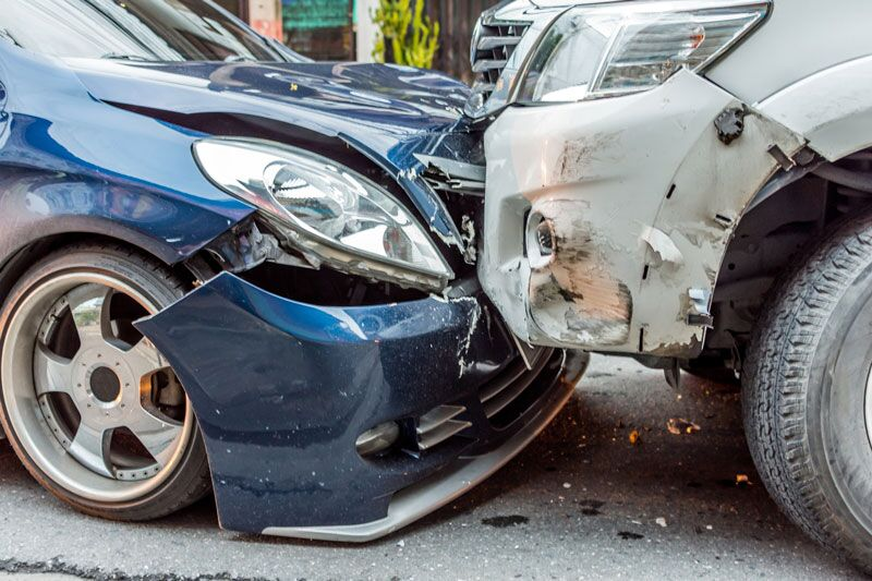 Head on collision, auto accidents and your driving record