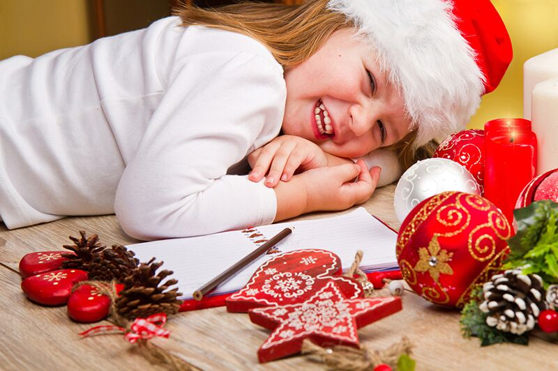 kid excited for the holidays, suggestions to care for your kids this winter